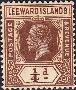 Leeward Islands #61 MH