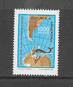 WHALES - ARGENTINA #1323   MNH