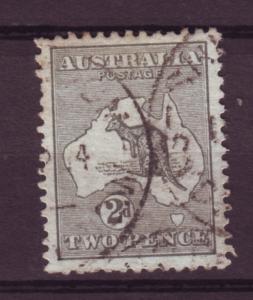 J11445 JL stamps 1913 australia used kangaroo #3