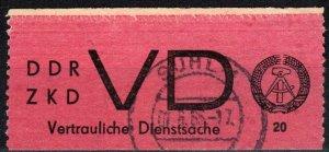 DDR Mi#D1a F-VF Used CV $75.00 (X2311)