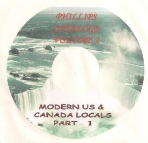 Modern US Local Posts - CD Catalogue