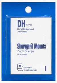Mounts Showgard, DH, 52/36mm (30ea. Black) (00525B)