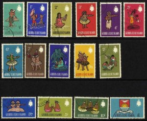 Gilbert and Ellice Is SG89/103 Set of 15 Fine Used