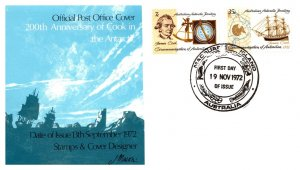 Australian Antarctic Territory, Worldwide First Day Cover, Polar, Captain Cook