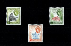 BASUTOLAND - 1959 - QE II - CHIEF - NATIONAL COUNCIL + # 58 - 60 - MINT MNH SET!