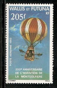 Wallis and Futuna Islands C121 1983 200th Manned Flight single MNH