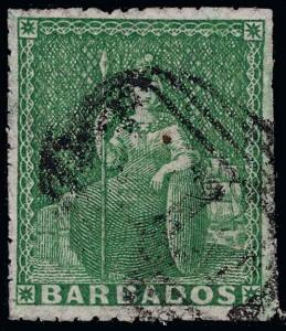 Barbados Scott 10 Gibbons 13 Used Stamp