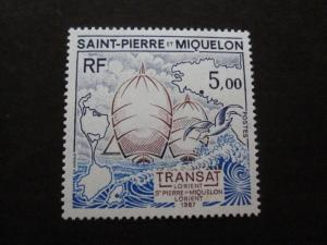 St Pierre and Miquelon #492 Mint Never Hinged - (V1) I Combine Shipping 5