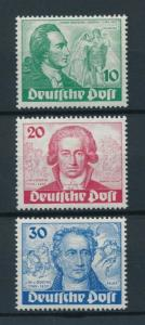 [97938] West Germany Berlin 1949 Goethe set  MNH