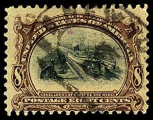 U.S. PAM-AM ISSUE 298  Used (ID # 39908)