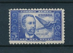 [107827] Spain 1944 Airmail stamp day Aviation  MLH