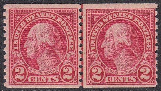 united states 599 mnh line pair cv  4 50    hipstamp