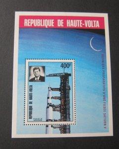 Burkina Faso 1973 Sc C169 John F Kennedy set MNH