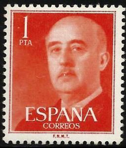 Spain 1954 Scott# 825 MH
