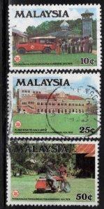 Malaysia Scott 165-167 Used set