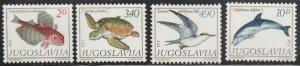 Yugoslavia #1473-1476 MNH Full Set of 4