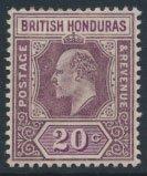 British Honduras SG 83 SC # 61 MH  Crown CA perf 14    see scans and details