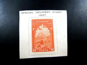 CANADA - SCOTT # E3   -   Used on Paper                  (can-47)
