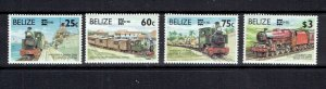 BELIZE - 1996 CAPEX '96 - SCOTT 1067 TO 1070 - MNH