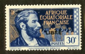 FRENCH EQUATORIAL AFRICA 91 MH SCV $16.00 BIN $7.00 PERSON