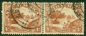 EDW1949SELL : SOUTH AFRICA 1932 Sc #40 Reddish Brown. Very Fine, Used. Cat $210.