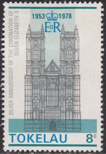 Tokelau Islands 61 Westminster Abbey 1978