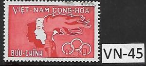 VIET NAM VN-45 (1) USED STAMP, SC162, (1961) COLOMBO PLAN