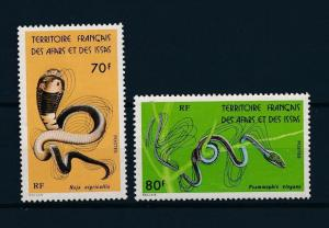 [59285] Afars and Issas 1976 Reptiles Snakes MNH