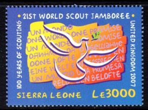 Sierra Leone 2879 Boy Scouts MNH VF