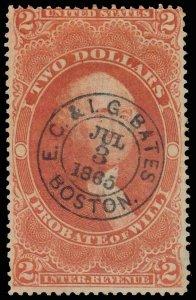 U.S. REV. FIRST ISSUE R83c  Used (ID # 97808)