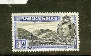 ASCENSION ((P1701B) KGVI 6D  SG43  MNH