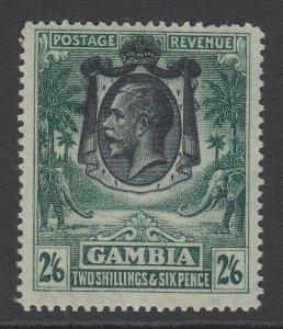 Gambia, Scott 116 (SG 137, Ty. A), MNH
