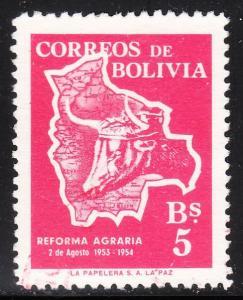 Bolivia 384 -  FVF used