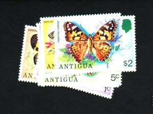 Antigua #387-93 MINT F-VF OG NH Cat $10