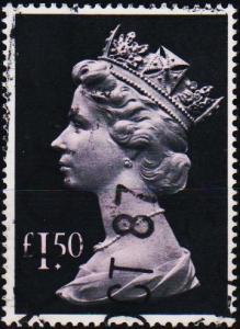 Great Britain.1977 £1.50 S.G.1026e Fine Used