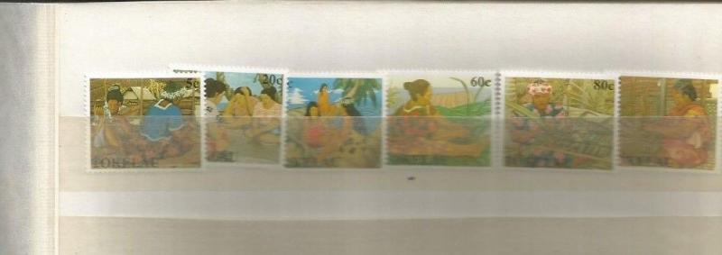 TOKELAU SCOTT 165-70 MNH