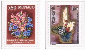 Monaco VF-NH #1084-1085