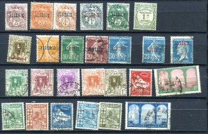 Algeria  Accumulation 1924 and up Mostly Used Some Overprint 10334