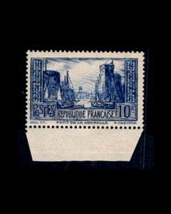 VINTAGE: FRANCE 1929 OG NH SCOTT # 252 $140 LOT #1929F678