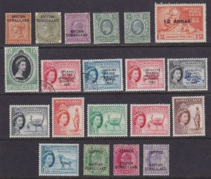 SOMALILAND PROTECTORATE MINT & USED COLLECTION REMOVED FROM STOCK PAGE - W123