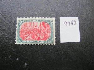 GERMANY 1916 MINR. 97All GERMAN EMPIRE $85