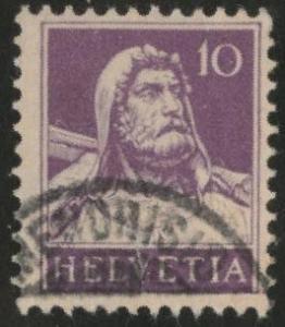 Switzerland Scott 169c used from 1914-1930 set