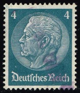 Germany #417 Paul von Hindenburg; Used (0.40)