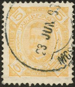 Angola, Scott #25, Used