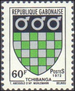 Gabon #291-293, Complete Set(3), 1972, Never Hinged
