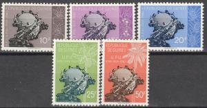Guinea #196-200  MNH  CV $3.10 (K810)
