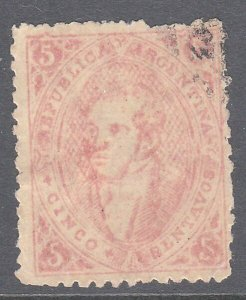 ARGENTINA  An old forgery of a classic stamp................................C974