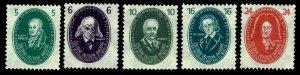 1950 German Democratic Republic Scientists - OGNH - F/VF+ - CV$53.25 (ESP#3362)