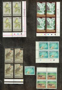 JAMAICA STAMP MNH BLK OF 4 STAMPS COLLECTION LOT #3