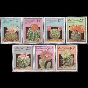 VIET NAM NORTH 1987 - Scott# 1752-8 Cacti Set of 7 NH